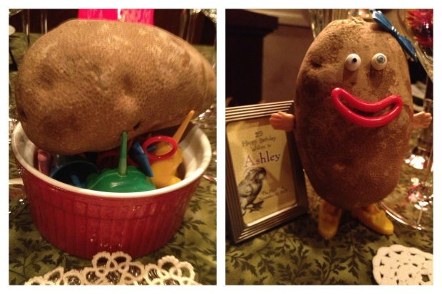 A REAL Mrs. Potatohead