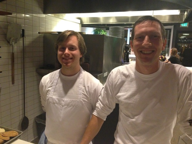 Some of the guys responsible for our delicious eats!
